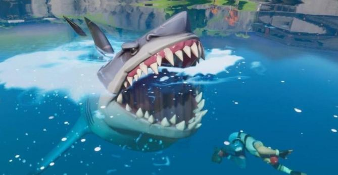 fortnite shark week